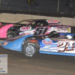 Jeremy Nichols 24J edged Amber Crouch 51A at the line in a wild Sportsman feature.