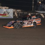 Allen Weisser ran the top side to his eighth Modified feature win and wrapped up the 2019 track title.