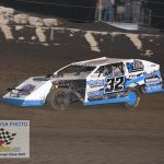 Mason Duncan once again dominated the Hobby-Modified feature, picking up his eighth win and fifth in a row.