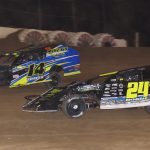 Michael Thayer (14) and Steve Hogue