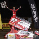 A happy Reutzel on the wing!