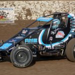 C.J. Leary is on top of the current USAC sprint car standings but had a tough night Thursday, finishing 14th in the main event.