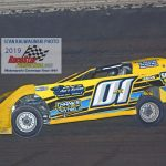 Greg Cantrell Jr. and his No. 01 on their way to victory.