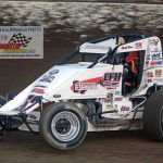 Isaac Chapple and his No. 52 also captured a heat race win.