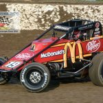 Kevin Thomas Jr. (#19) finished 12th in the feature.