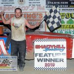 "TJ Larson was the winner of the $1,000 ""Bomber Bonus""."