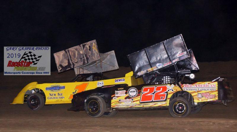 """Montpelier Speedway """"Outlaw Showdown""""; Gary Gasper Photos"""