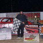 Thunder Car feature winner Jason Fritz