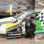 Nick Schmidt was the winner of the 25-lap main event for four-cylinder Bandits division competitors.