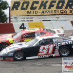 Ty Majeski (#91) works inside of Steve Apel (#51).