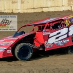 Frank Marshall (#28) won another DIRTcar modified division championship at Indiana's Plymouth Speedway.