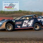 Kyle Cooper (#24) was the Pro Late Models champion at Indiana's Shadyhill Speedway.