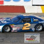 Michael Bilderback (#2) claimed another NASCAR late model championship at the Rockford Speedway.