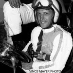 Jerry Matter is ready to go midget racing in 1965.  (Vince Mayer Photo)