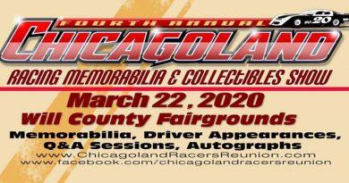 Chicagoland Racing Memorabilia Show!