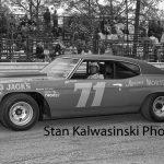 Bill Davis and his fresh '72 Chevelle at Illiana Motor Speedway in 1973.  (Stan Kalwasinski Photo)