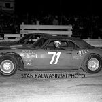Ready to go late model racing at Illiana Motor Speedway in 1972.  (Stan Kalwasinski Photo)