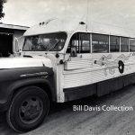 """Bill Davis'  """"Racehound Lines"""" bus  (Bill Davis Collection)"""