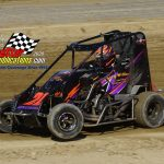 600 Mini Sprint Feature winner from May 23rd Cody Williams.