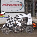 600 Non Wing Micros Feature winner Dylan Woodling.