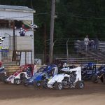Pretty neat four wide salute by the non wings!
