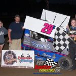 A-Wing Class feature winner Stone Sharpe and company!