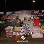 Tyler Roth CR Towing Sportsman feature winner