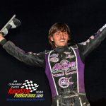 Feature winner Tyler Carpenter