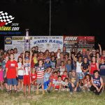 The 20th Firecracker 50 feature winner Nick Allen.  He's the tallest one in the photo!