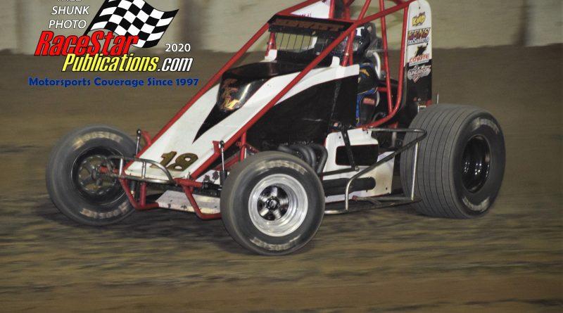 BOSS Sprints Sandusky County Fairgrounds; Will Shunk Photos