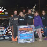 Allen Weisser tied for the DIRTCar UMP national points in the Modified class picked up his second win.
