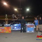 Nick Macklin took the $1000 to win Street Stock special