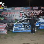 Cody Wisher took the win in the Hobby-Modified race.