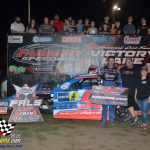 In a battle between contenders for the UMP National Modified championship, Mike McKinney turned back Allen Weisser for the win.