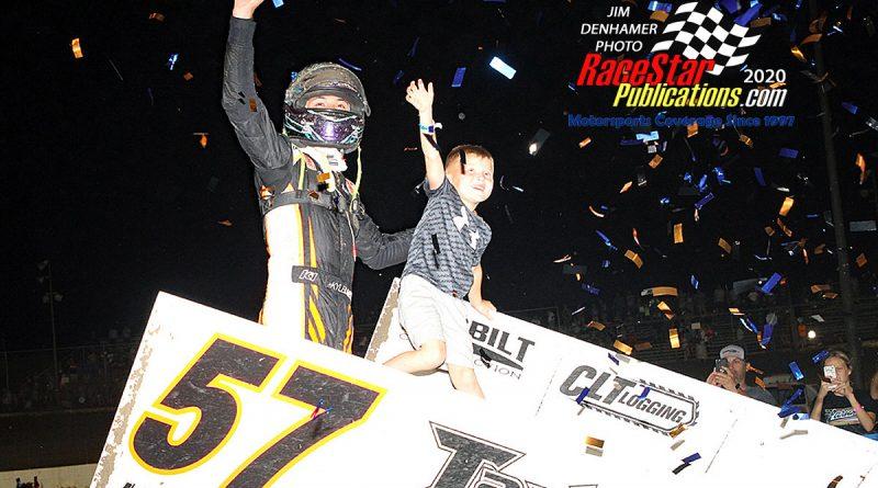 I-55 Raceway WoO Sprints; DenHamer Photos