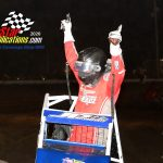 Shane Cottle Winner of the sprint feature