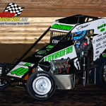 Chase McDermand and his No. 40 on their way to victory.