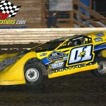 Greg Cantrell, Jr. and his No. 01 on their way to victory.