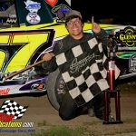 Joel Hernandez won the street stocks feature and the division championship.