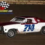 70-year-old Mike Nelms is the champion in the pure stocks division.