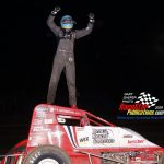 Non wing sprint feature winner Clinton Boyles