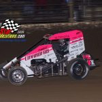 USAC Midwest Regional Midget Series feature winner Thomas Meseraull.