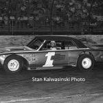 Ted Janecyk and his Chevelle No. 1 ready to go racing at Raceway Park in 1969.  (Stan Kalwasinski Photo)