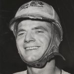 Ted Janecyk – early in his racing career.  (Johnnie Salamon Photo)