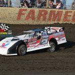 New Berlin's Jose Parga has been on a tear early in the season. Parga claimed his third Pro Late Model win at Farmer City, moving into the lead in the track standings. In addition, Parga has picked up wins at Lincoln and Macon Speedway, giving him five wins out of six races.