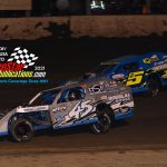 Two feature races for the AMS Modified Series took place on Friday night. #45 Kyle Hammer was able to grab his first ever Modified feature, while Tyler Nicely claimed the second race.