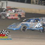 #T9 Ryan Thomas and #45 Kyle Hammer race for second