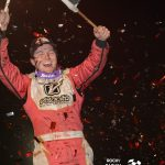 Bobby Pierce earned his first career WOO race win in front of his hometown crowd