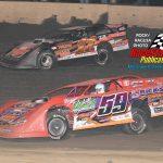 #59 Aaron Heck races with #11E Brandon Eskrew