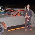 Thunder Stock feature winner Sheldon Oberle.